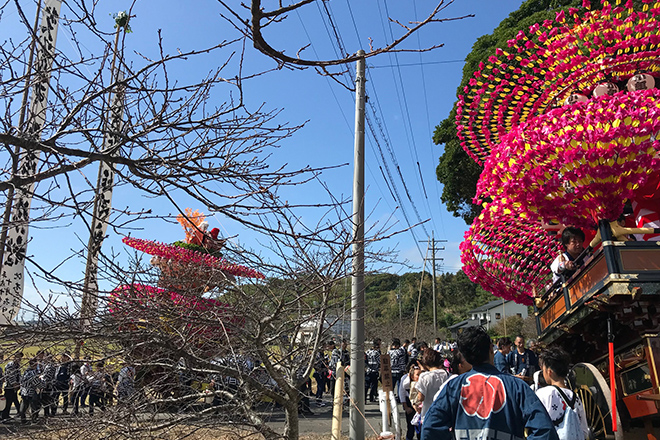 太鼓やお囃子、掛け声が織りなす御前崎の秋祭り