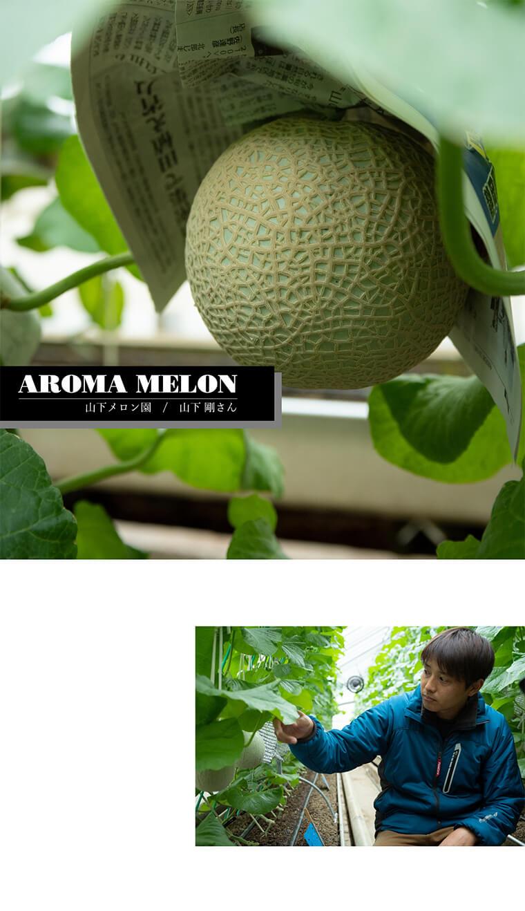 AROMA MELON 山下メロン園/山下 剛さん