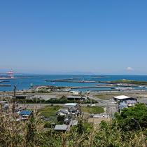ステキな御前崎港の景色